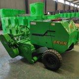 圣隆玉米秸秆粉碎回收打捆机,牵引式秸秆回收打捆机