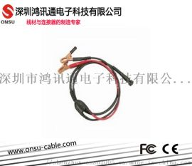 密特检测仪带夹钳密特线,蓄电池检测线