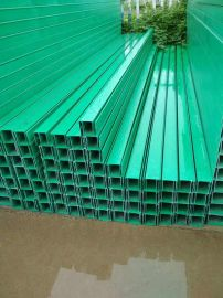 玻璃钢槽式电缆桥架 华蓥高压线缆桥架