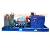1400公斤高压水枪 电厂冷油器高压清洗机