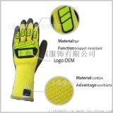 防撞機械手套 防水防油作業手套 機械工作手套