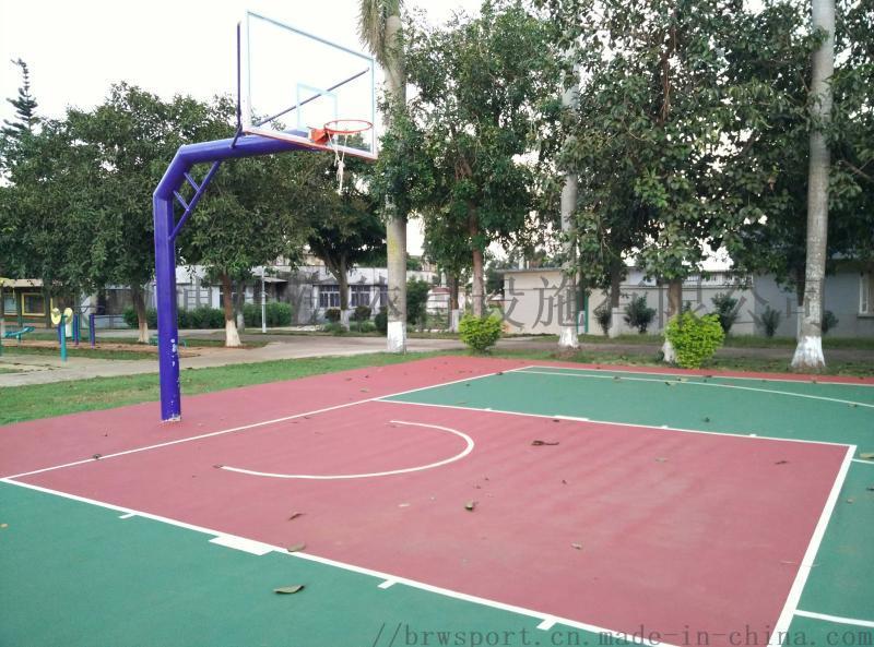 做一个标准丙烯酸篮球场的预算报价?