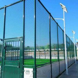 球场包塑网 PVC勾花网 PE包塑勾花网可定制