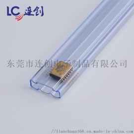 透明方管厂家不卡料IC包装管装电子物料供应商