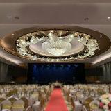 圆形酒店宴会厅菠萝珠吊灯