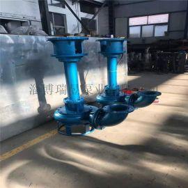 7.5kw搅拌式液下渣浆泵 长轴立式耐磨泥沙泵