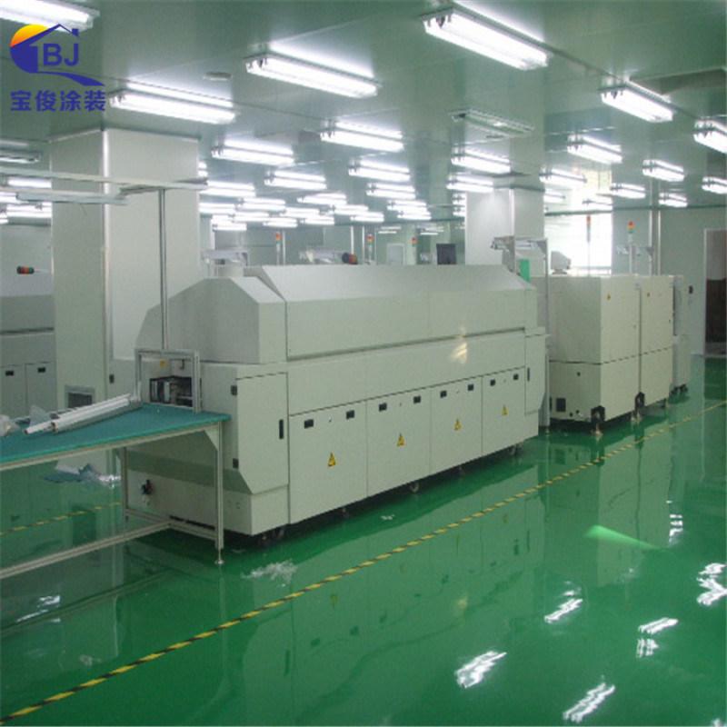 環氧樹脂防靜電地坪漆 服裝廠防靜電地坪漆