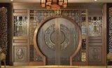 銅藝銅門可定制歐式別墅銅門圍牆小區安全防盜門