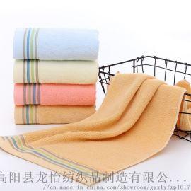 純棉成人毛巾 純棉吸水毛巾 潔面巾廠家直銷
