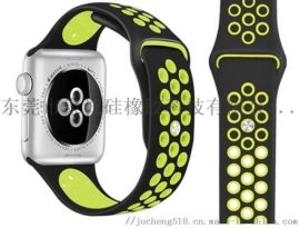 厂家直销苹果硅胶表带苹果IWatch手表表带