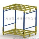 摺疊式堆垛架 鋼製堆垛式貨架 移動式金屬托盤