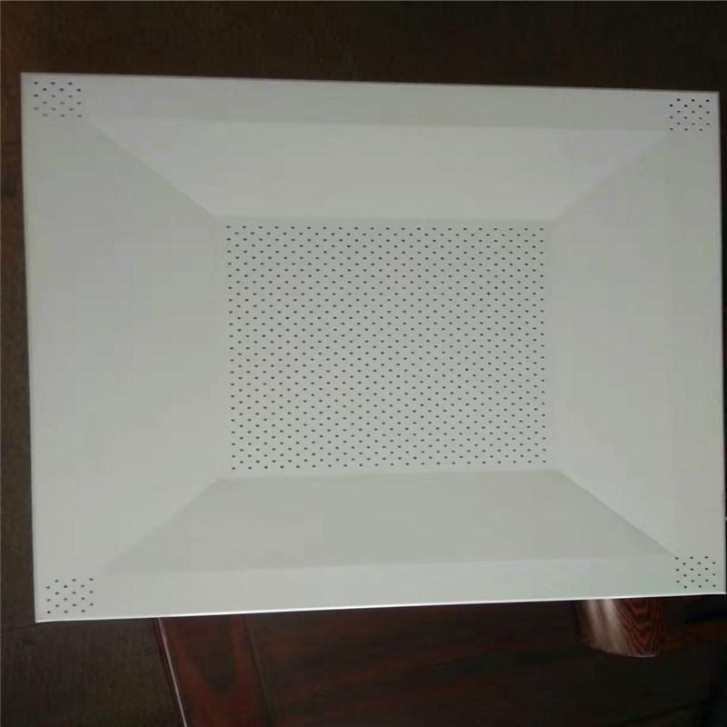 宜昌白色吊頂鋁扣板廠家 長春白色衝孔鋁扣板特點