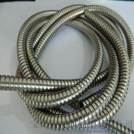福莱通生产穿线耐高温双扣不锈钢金属软管