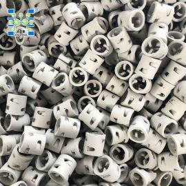 厂家陶瓷鲍尔环, 耐酸耐碱耐高温耐腐蚀 冷却吸收塔
