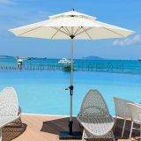 [顶峰]佛山庭院伞合理_沙滩桌椅带伞花园折叠中柱伞
