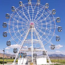 大型摩天轮 机械建筑设施42米摩天轮游乐设备
