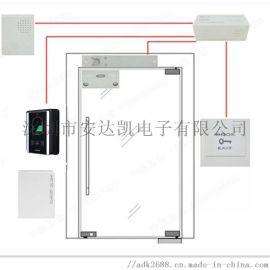 上海测温刷卡门禁 测温人脸识别一体 测温刷卡门禁通道