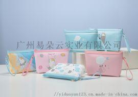 新款可爱梯形化妆包 手提便携包
