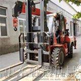 5吨叉车飞臂吊 叉车改装吊车 物流园专用叉车吊
