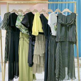 广州波西米亚连衣裙品牌折扣女装尾货批发