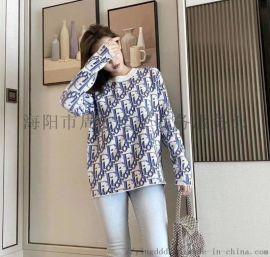 广州服装Dior毛衣上衣外套迪奥裤子女装货源