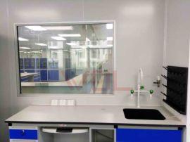 实验室操作台 钢木实验台定制