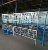 PVC草坪护栏塑料栏杆 横杆20*46mm 立杆20*46mm 各种颜色定做