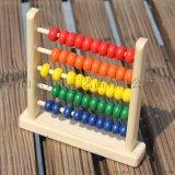 制小五格串珠 兒童早教木質益智玩具