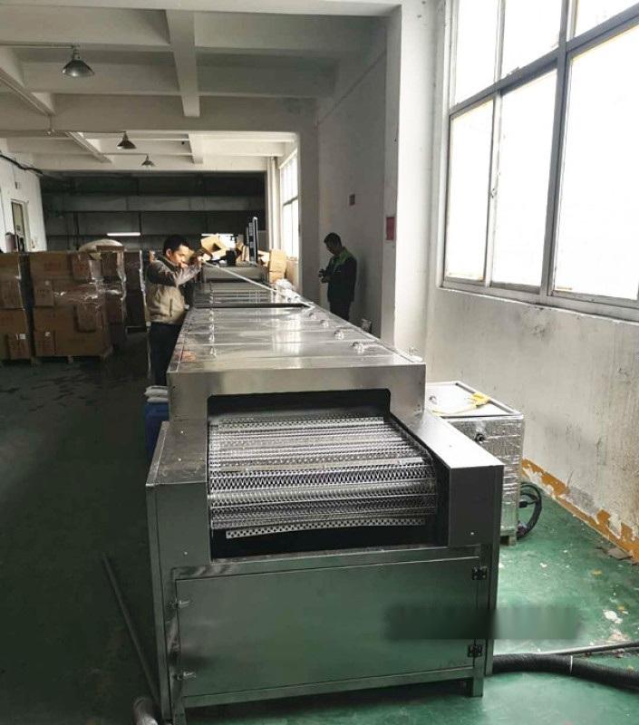 鋁合金擠壓型材通過式超聲波清洗烘幹線