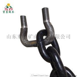 多规格提升机输送链条 护栏圆环链条 吊装起重链条