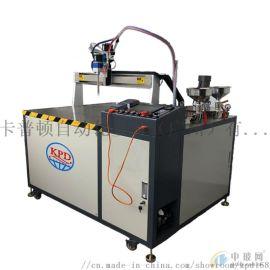 不锈钢材灌胶机 广州卡普顿ksd-视觉点胶机