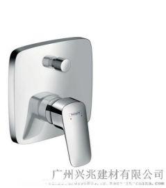 汉斯格雅  洛捷丝暗装单把手浴缸龙头带安全组件