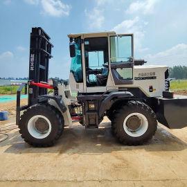 3.5噸多功能戶外泥濘路沙地 越野叉車