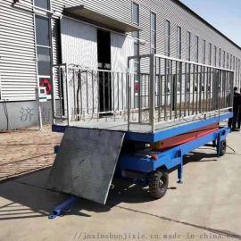 卸猪台移动式装羊台固定式装猪台
