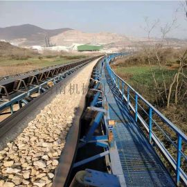 石料胶带输送机 80型皮带机 洗煤厂胶带输送机