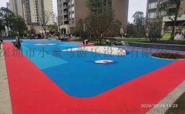 深圳幼儿园塑胶地面,EPDM地胶软胶,悬浮地板厂家