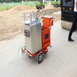 型手推式划线机 标线热熔划线机 停车位冷喷划线车