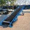 新民6米長槽型糧食輸送機Lj8圓管裝卸車皮帶輸送機