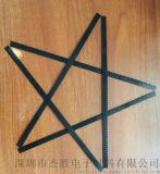 黑色束网条 防尘网固定条 通讯设备束网条