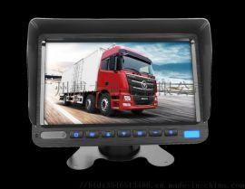 车载视频监控7215AHD双录四录显示器