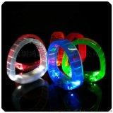厂家定制LED发光手环 演唱会手镯