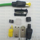 PROFINET匯流排電纜接插頭線纜RJ45連接器