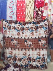 按斤卖法兰绒毛毯25元模式跑江湖地摊靠地商品批发