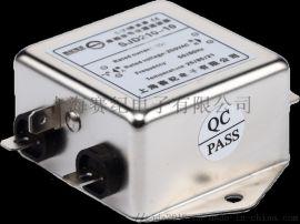 赛纪电源滤波器220V交流单相单级净化抗干扰EMI