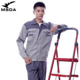 出口跨境长袖工作服男女耐磨汽修厂服电焊防静
