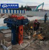 型钢smw工法拔桩机 起拔型钢桩拔桩设备