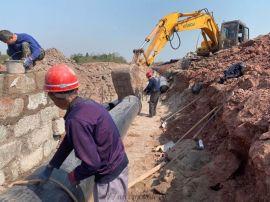 重庆安特管业大口径PVC-U排水管dn1800供应商