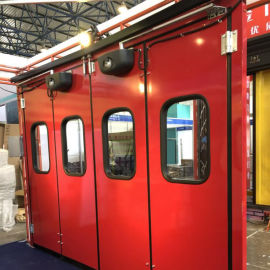 折叠门 大型折叠门 消防折叠门 工业折叠大门