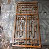 合浦縣仿木紋鋁花格窗 仿古木紋鋁窗花廠家特色設計
