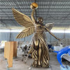甘肅樓盤景觀天使人物雕塑 玻璃鋼勝利女神雕塑